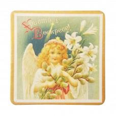 """Мыло в подарочной коробке """"Яйцо"""" (ангел с вербой)"""