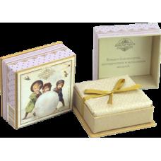 Мыло в подарочной коробке (сиреневая)