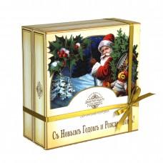 """Сюрпризная коробка (с музыкой) """"Дед мороз"""""""