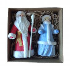 """Подарочный набор """"Дед Мороз и Снегурочка"""""""