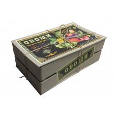 """Подарочный набор """"Ящик с овощами"""""""